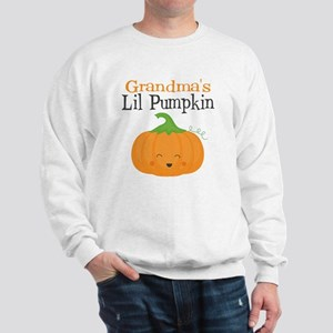 Grandmas Little Pumpkin Sweatshirt