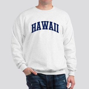 Blue Classic Hawaii Sweatshirt