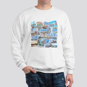 Italy Collage Sweatshirt