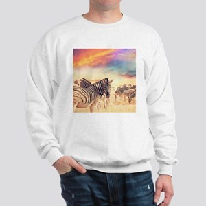 Beautiful Zebras Sweatshirt