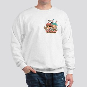 Girly Pirates Sweatshirt