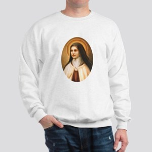 Saint Therese of Lisieux Sweatshirt