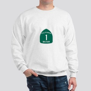 Big Sur, California Highway 1 Sweatshirt