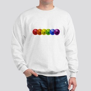 RainBowLingBalls copy Sweatshirt