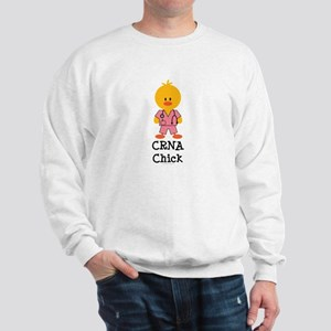 CRNA Chick Sweatshirt