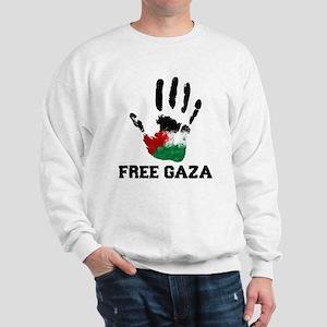 8b136ed02bf Free Gaza Sweatshirts & Hoodies - CafePress