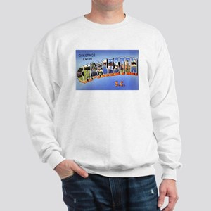 Charleston South Carolina Greetings (Front) Sweats