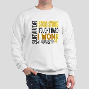 8608932d691 Childhood Cancer Sweatshirts & Hoodies - CafePress