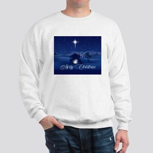Merry Christmas Nativity Sweatshirt