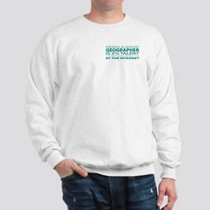 Good Geographer Sweatshirt