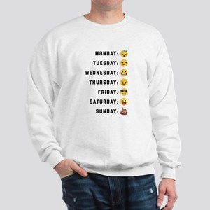 Emoji Days of the Week Sweatshirt