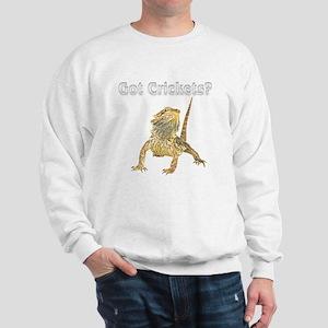 BD got crickets (black shirt) Sweatshirt