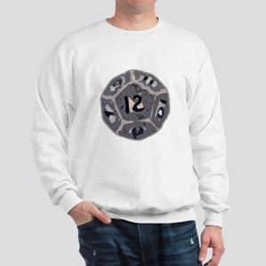 12 Sided Die Sweatshirt