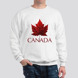 Canada Maple Leaf Souvenir Sweatshirt