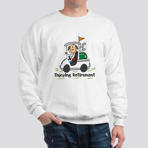 Retired and Golfing Sweatshirt