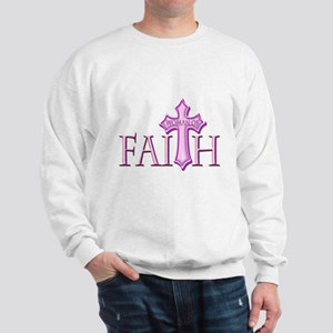 Woman of Faith Sweatshirt