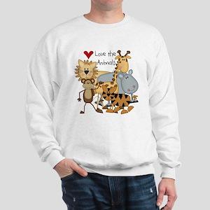 Love the Animals Sweatshirt