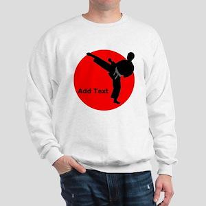 Karate Man Sweatshirt