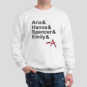 Aria & Hanna & Spencer & Emily & A Sweatshirt