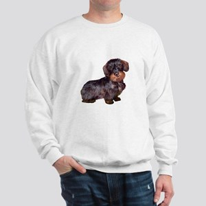 Wire Haired Dachshund (#1)q Sweatshirt