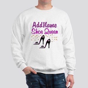 FUN PURPLE SHOES Sweatshirt