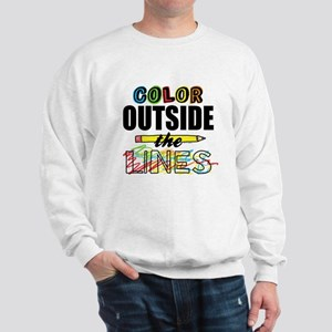 Color Outside The Lines Sweatshirt