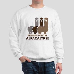 Prepare For The Alpacalypse Sweatshirt