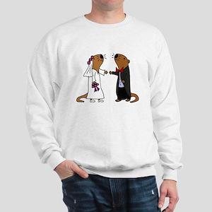 Funny Otter Wedding Sweatshirt