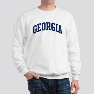 Blue Classic Georgia Sweatshirt
