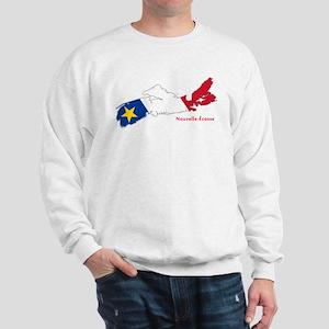 Acadian Flag Nova Scotia Sweatshirt