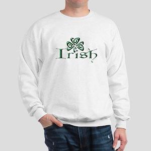 Irish: Celtic Shamrock' Sweatshirt