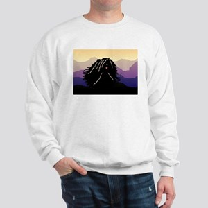 Puli Purple Mountain Sweatshirt
