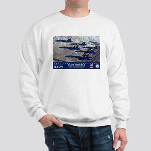 Blue Angel's F-18 Hornet Sweatshirt