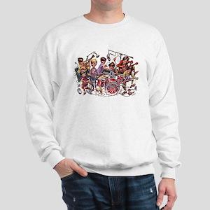 Cowsill 1960s Cartoon Sweatshirt