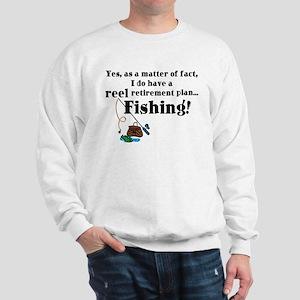 Reel Retirement Plan Sweatshirt