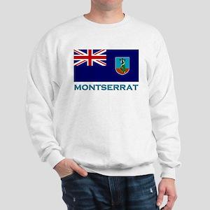 Montserrat Flag Stuff Sweatshirt