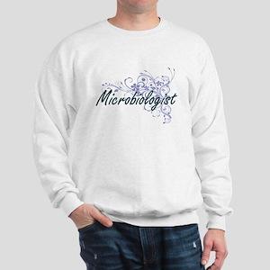 Microbiologist Artistic Job Design with Sweatshirt