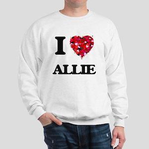 I Love Allie Sweatshirt