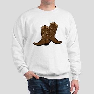 Cowboy Boots Sweatshirt