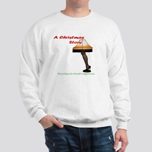 Christmas Story Electric Leg Lamp Sweatshirt