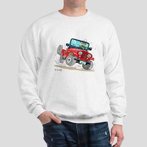 Willys-Kaiser CJ5 jeep Sweatshirt