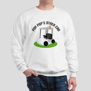 PopPop Golf Cart Sweatshirt