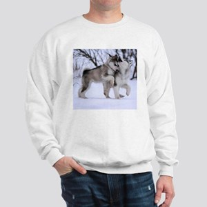 Wolves Playing Sweatshirt