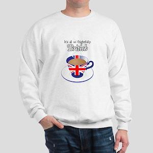 All Frightfully British Sweatshirt