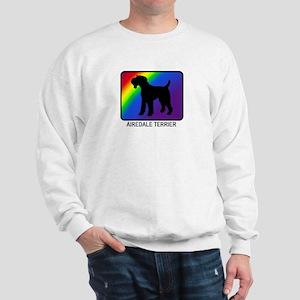 Airdale Terrier (rainbow) Sweatshirt