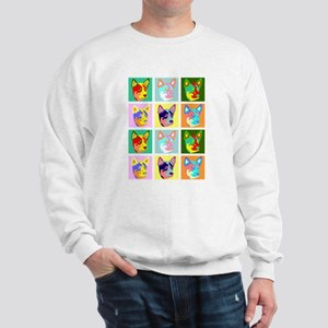 Australian Cattle Dog Pop Art Sweatshirt