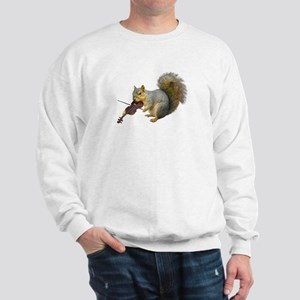 Squirrel Violin Sweatshirt