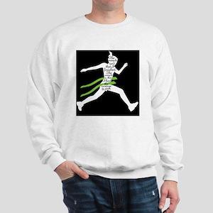 Running Poster Sweatshirt