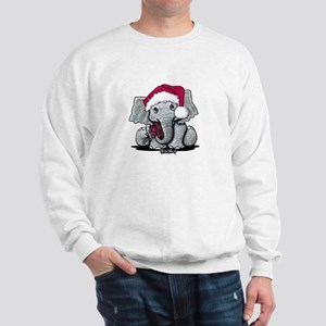Holiday Elephant Sweatshirt