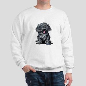 Black Puli Sweatshirt